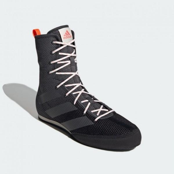 Adidas Boxschuhe Hog 3 schwarz/grau/rot