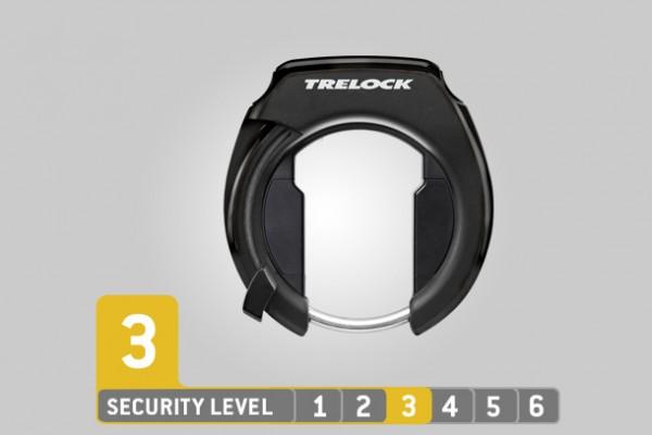 Trelock Rahmenschloss RS 351 AZ Black ZR 20