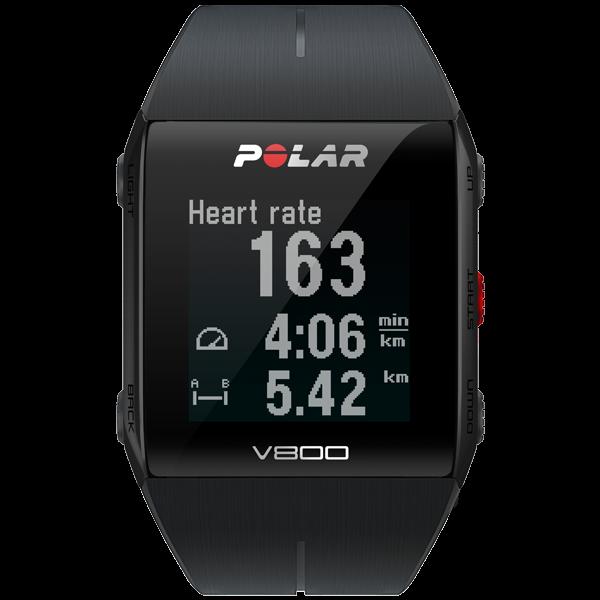 Polar V800 HR Black GPS-Sportuhr