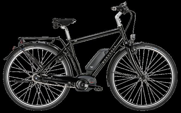 Wanderer E600 Performance schwarz-glänzend Bosch Performance Line 250 Watt / 500 Wh Freilauf