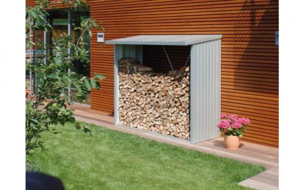 BIOHORT Brennholzlager/Geräteschrank WoodStock