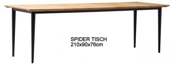 ZEBRA Gartenmöbelreihe SPIDER