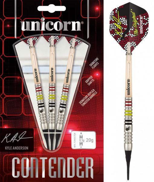 Unicorn Contender Kyle Anderson P2 Soft Darts