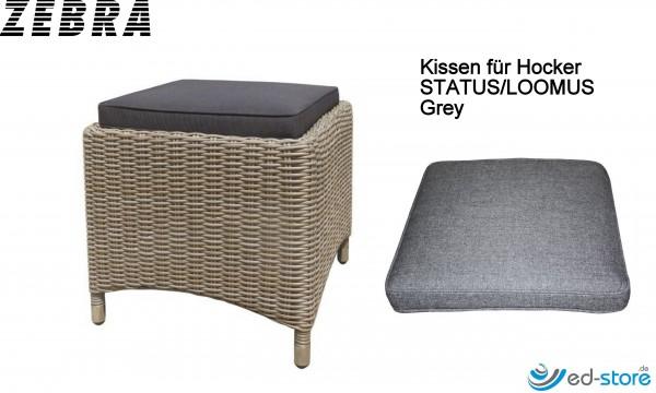 ZEBRA Kissenauflagen für Gartenmöbelreihe STATUS/LOOMUS