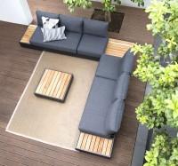 ZEBRA Gartenmöbelreihe CUBO LOUNGE