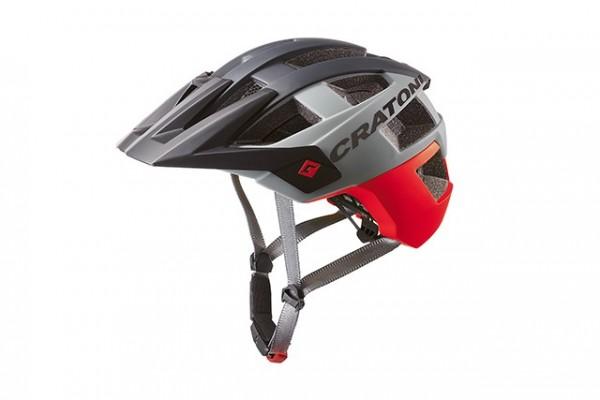 Cratoni Fahrradhelm Allset red-black matt