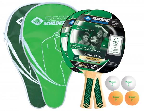 Donic-Schildkröt Tischtennis-Cover-Set Champs Line 400 FSC