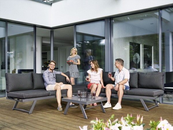 Sieger Exclusiv Passion Gartenmöbelreihe Auckland Lounge