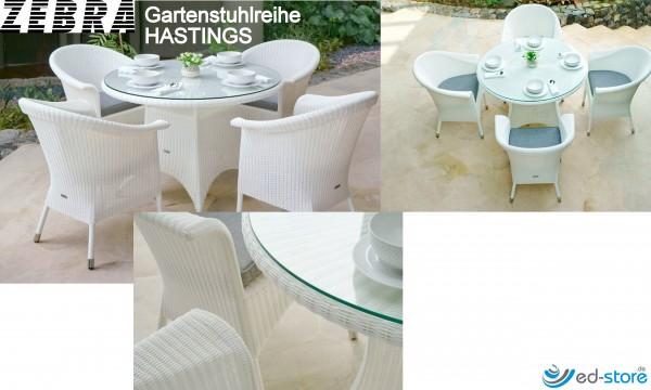 ZEBRA Gartenstuhlreihe HASTINGS Sessel