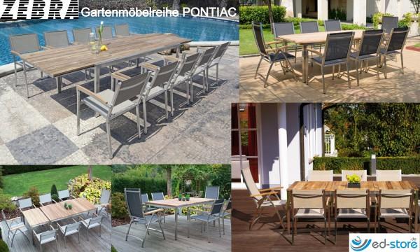 ZEBRA Gartenmöbelreihe PONTIAC