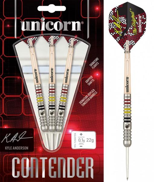 Unicorn Contender Kyle Anderson P2 Steel Darts