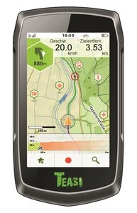 TEASI ONE classic - Outdoor-Navigationsgerät-Retourenschnäppchen