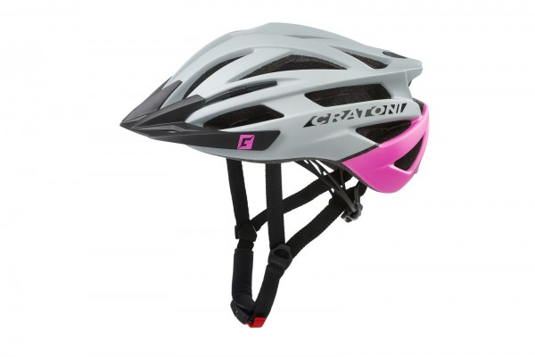Cratoni Fahrradhelm Agravic grey-pink matt