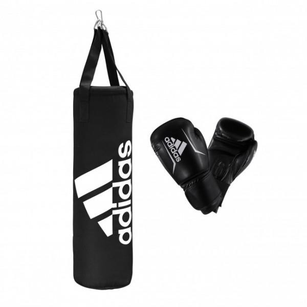 Adidas Junior Boxing Set schwarz/weiß