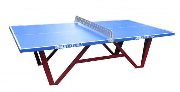 Joola Externa Outdoor Tischtennisplatte aus glasfaserverstärktem Polyester blau