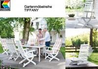 Kettler Gartenmöbelreihe TIFFANY