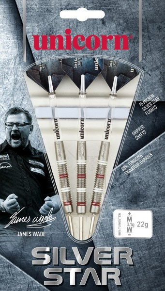 Unicorn Silver Star James Wade Steel Darts