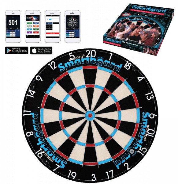 Unicorn Smartboard Bristle Bluetooth Dartboard 79700