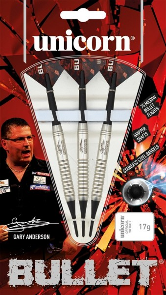 Unicorn Bullet Gary Anderson Soft Darts