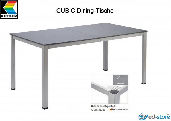 Kettler Ausziehtisch CUBIC Dining inkl. Einlegeplatte