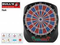 BULL'S Flash RB Sound Elektronik Dartboard 67974