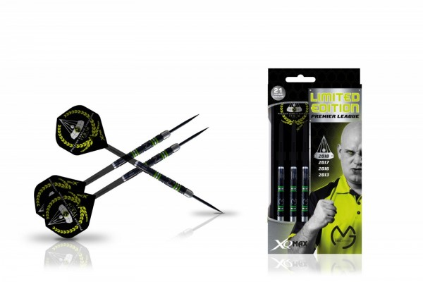 Michael van Gerwen Premier League Limited Edition 90% Black-Tungsten