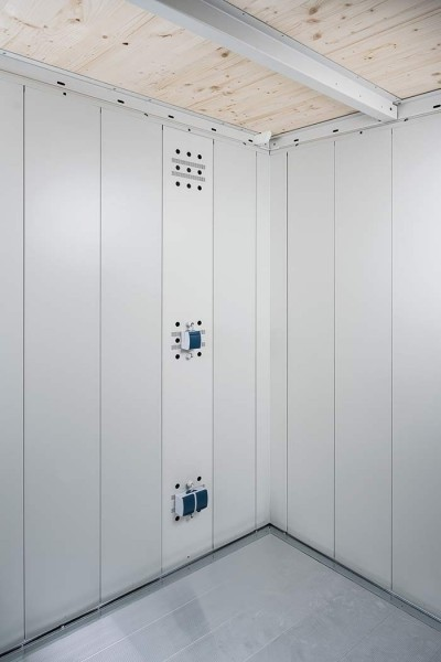 BIOHORT Elektro-Montagepaneel für Gerätehaus Neo
