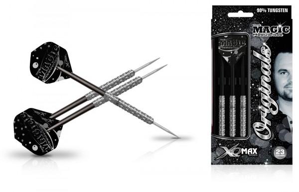 """XQ MAX Yordi """"Magic"""" Meeuwisse original 90% Tungsten Steel Darts"""