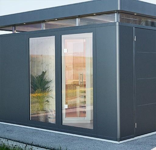 BIOHORT Glaselement für Nebengebäude CasaNova