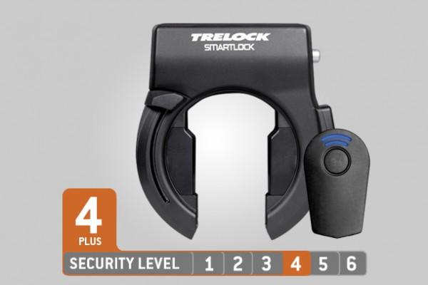 Trelock Rahmenschloss SL 460 Smartlock black