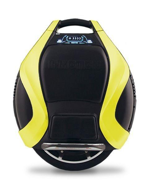 Inmotion V3-pro Elektro-City-Roller Doppelrad/Solowheel gelb