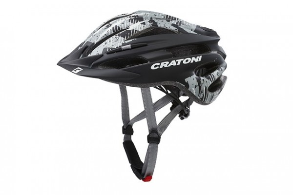 Cratoni Fahrradhelm Pacer Jr black-anthracite matt