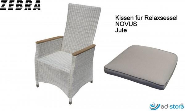 ZEBRA Kissenauflagen für Gartenmöbelreihe NOVUS