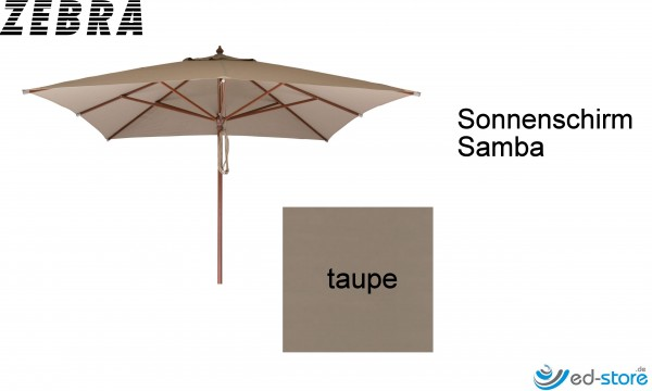 ZEBRA SAMBA NOVO Sonnenschirm