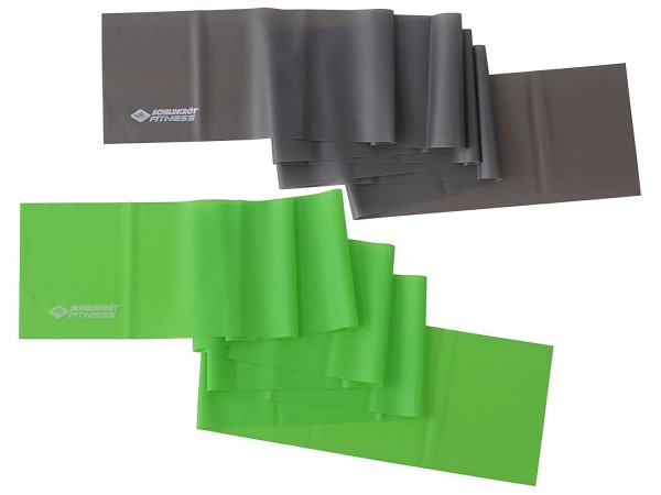 Schildkröt-Fitness Fitnessbänder 2er Set-Latexfrei für Allergiker geeignet