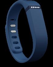Fitbit Aktivitäts- und Schlafarmband FLEX marineblau