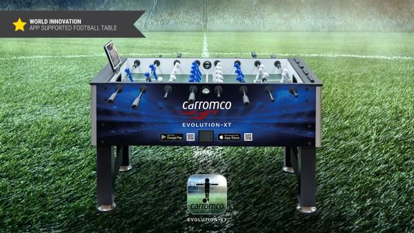 Carromco Kicker Evolution-XT mit App Anbindung