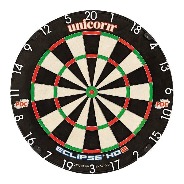 Unicorn Dart Board Eclipse HD2 Bristle Board 79448