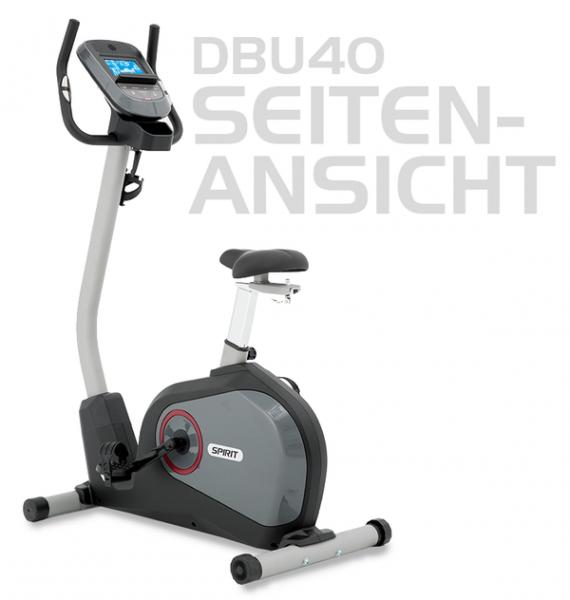 Spirit Fitness Ergometer Upright Bike DBU40