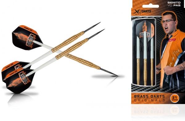 XQ Max Benito van de Pas Brass Steel Darts