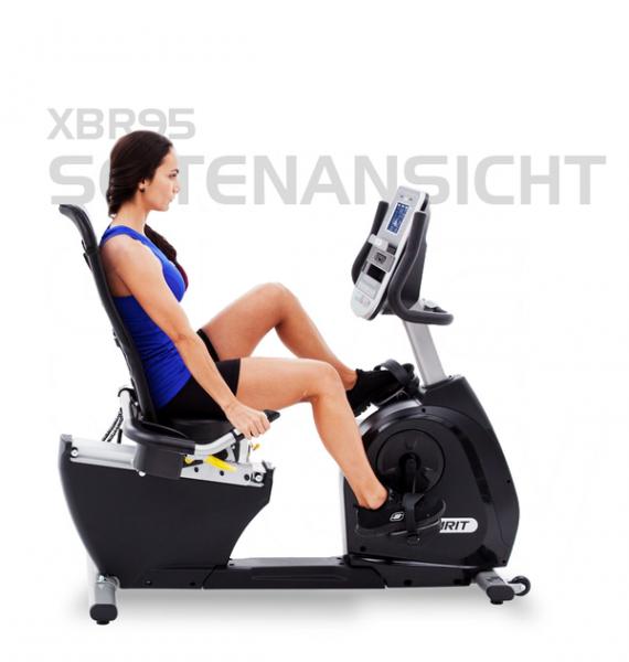 Spirit Fitness Liegerad XBR95