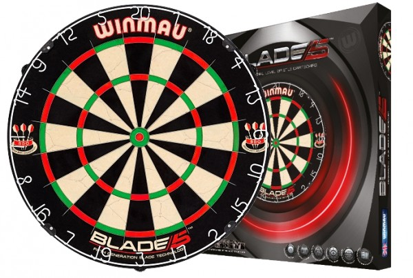 "WINMAU Dartboard Original ""Blade 5"""