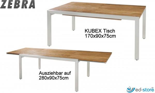 ZEBRA Gartenmöbelreihe KUBEX