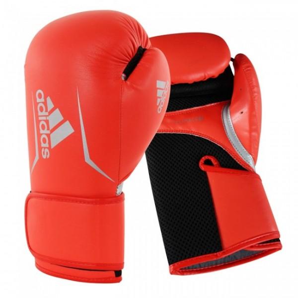 Adidas Boxhandschuhe Speed 100 Woman rot/schwarz/silber
