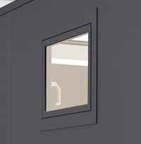 BIOHORT Dreh-Kippfenster für Nebengebäude CasaNova