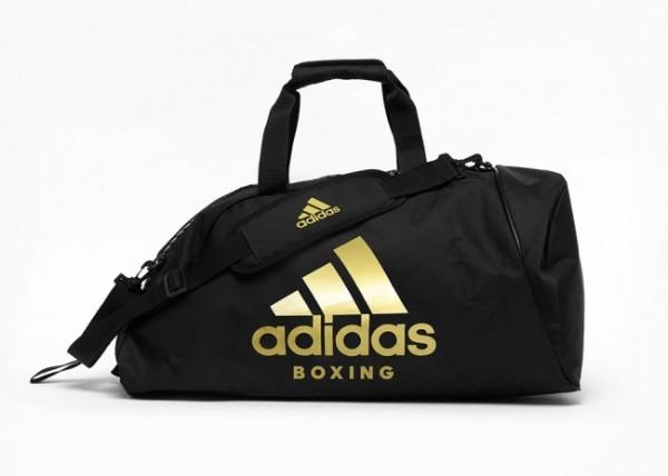 Adidas Sporttasche 2in1 Polyester BOXING schwarz/gold Gr. M