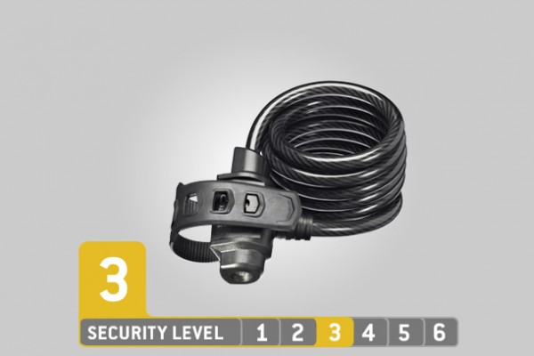 Trelock Spiralkabelschloss SK 322