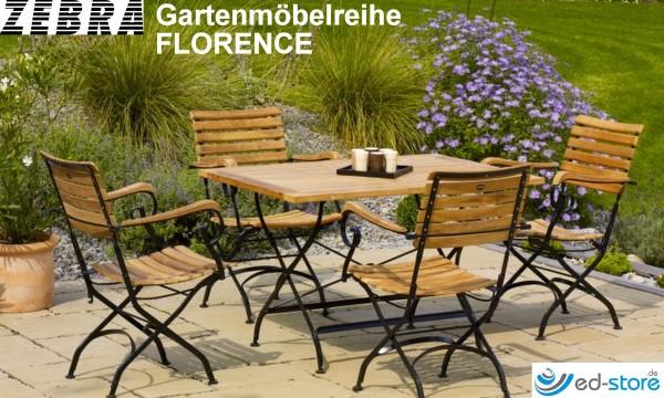 ZEBRA Gartenmöbelreihe FLORENCE