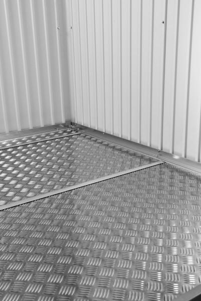 BIOHORT Alu-Bodenplatten für Geräteschrank