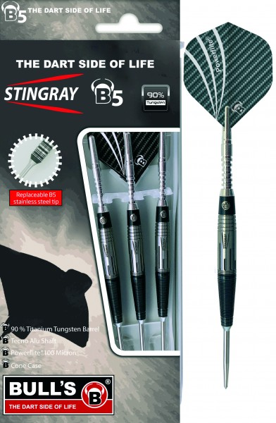 BULL'S Stingray-B5 ST3 Steel Dart